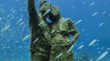 Lanzarote - viel mehr als Strand: Unheimliches Unterwassermuseum eröffnet