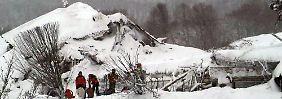 Ruine des Berghotels Rigopiano: