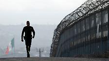 """""""Mexiko wird zu 100 Prozent zahlen"""": Trump baut seine Mauer"""