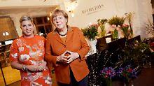 Kamingespräch mit 40 Gründern: Angela Merkel trifft die Start-up-Szene