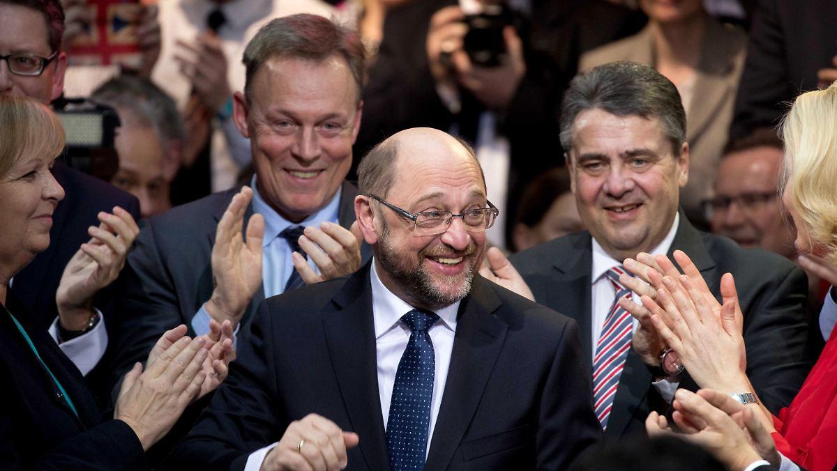 "Mega"" Kandidat Die SPD Berauscht Sich An Martin Schulz N Tv"