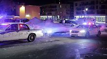 Anschlag auf Moschee in Kanada: Polizei geht von nur einem Täter aus