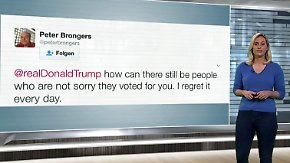 n-tv Netzreporterin: Trump-Wähler, Akademiker und Briten stemmen sich gegen Trump