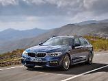 Die Außenhaut des 5er BMW Touring hat sich nur marginal verändert.