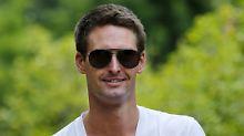Snapchat-Chef Evan Spiegel: Das ist der Mann, der Facebook narrt