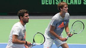 Deutsche Hoffnung: Zverev-Brüder können beim Davis Cup Geschichte schreiben