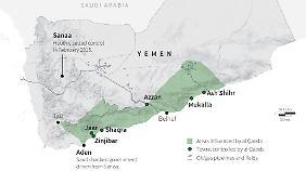 Im Jemen kontrolliert Al-Kaida weite Gebiete.