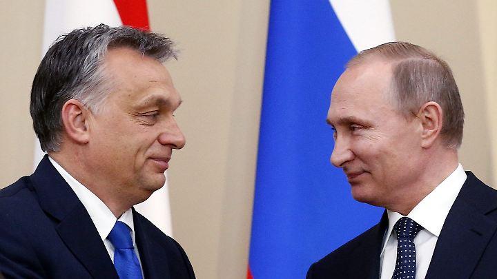 Orban und Putin.