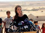 Einreiseverbot für Flüchtlinge: Jolie knöpft sich Trump vor