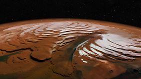 """Die """"nördliche Schlucht"""" ist fast 500 Kilometer lang und bis zu 100 Kilometer breit."""