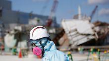 Die Aufräumarbeiten in Fukushima sollen noch mindestens drei Jahrzehnte dauern.