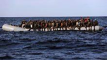 Die Route über Libyen ist die Hauptroute für Flüchtlinge aus Afrika, die nach Europa wollen.