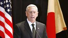 In Japan betont Pentagon-Chef Mattis die Verbundenheit beider Staaten - auch im Streit mit China.