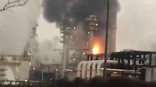Zwei Großbrände binnen weniger Wochen: Eni-Raffinerie kämpft gegen den Feuerteufel