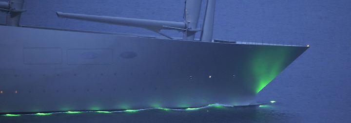 """""""Sailing Yacht A"""" ist fertig: Größte Segeljacht der Welt verlässt Kieler Werft"""