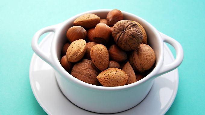 Walnüsse, Mandeln und Haselnüsse: Sie können das Wachstum von Krebszellen im Darm reduzieren.
