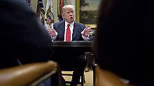 Donald Trump wird so langsam ungeduldig. Noch immer wartet der große Teil seines Kabinetts auf die Bestätigung des Kongresses.