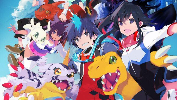 Bandai Namco bringt einen neuen Teil seiner Digimon World auf die PS4.