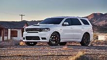 Mit Fast 500 PS wird der Dodge Durango ende des Jahres auf den US-Markt fahren.