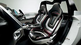 Auch derart stark konturierte Sitze wird es im neuen Suzuki Jimmy nicht geben.