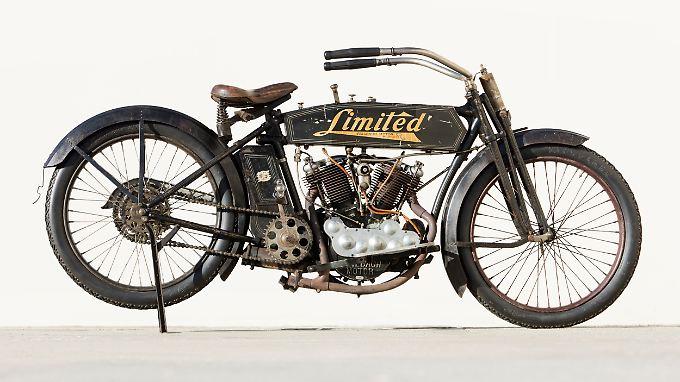 Zum Star der Bonhams-Auktion wurde überraschend diese Feilbach 10 HP-Limited aus dem Jahr 1914.