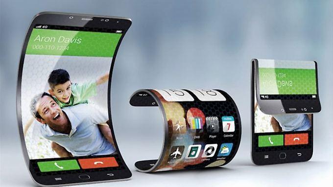 Biegsame und faltbare Displays kann Samsung bauen - wann kommt das Smartphone dazu?