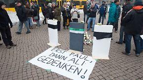 """Neue Installation """"Lampedusa 361"""": Krach um Kunst in Dresden geht weiter"""