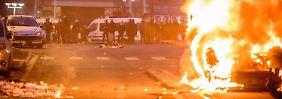 Gewalt erzeugt Gegengewalt: Das jüngste Beispiel liefern die Proteste in Frankreich.
