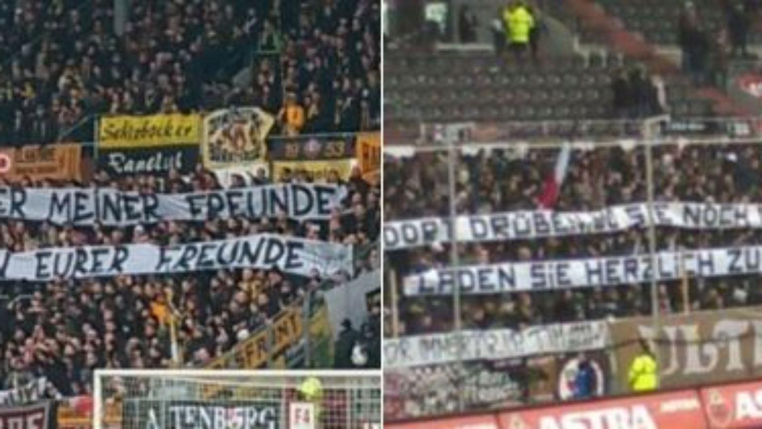 Am Guten Geschmack Vorbei Uble Plakate Bei St Pauli Gegen
