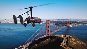 Mit dem Auto über die Golden Gate Bridge fliegen?