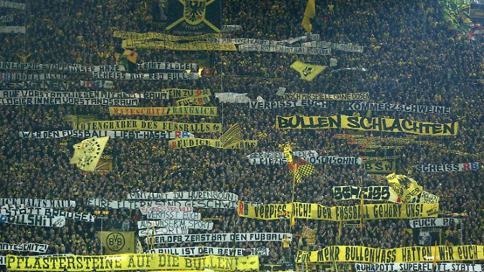 Bleibt leer: Südtribüne im Westfalenstadion.