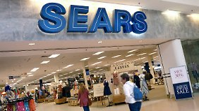 Eine Sears-Filiale in Peabody im US-Bundesstaat Massachusetts.
