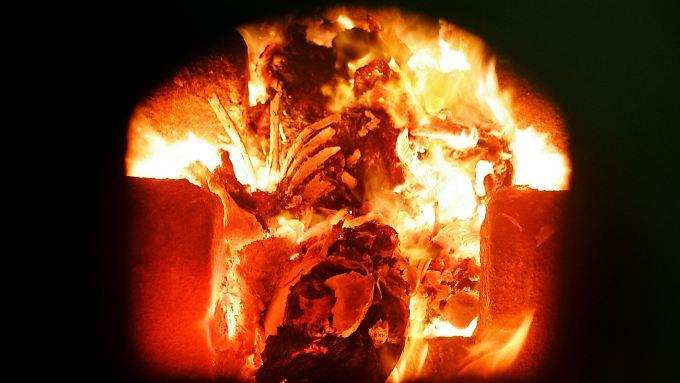 Mitarbeiter des Krematoriums in Regensburg sollen bei Feuerbestattungen auch Leichenteile anderer Menschen mitverbrannt haben.