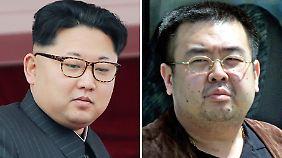 Giftanschlag auf Halbbruder in Malaysia: Südkorea geht von Mord im Auftrag von Kim Jong Un aus