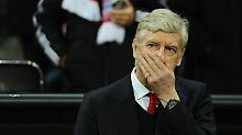 Nicht mehr unantastbar: Arsène Wenger steht nach über 20 Jahren beim FC Arsenal vor dem Aus.