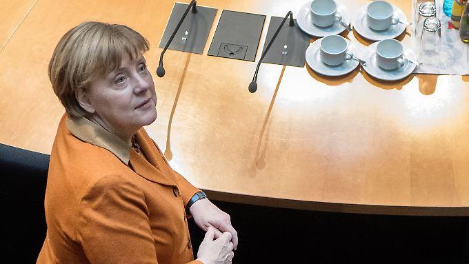 """Muss den """"politischen Auftrag"""" im Blick haben: Kanzlerin Merkel."""