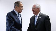 Russland-Politik der USA: Tillerson fordert Minsker-Abkommen ein