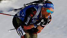Erik Lesser verpasst seine erste WM-Medaille von Hochfilzen denkbar knapp.
