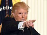 Turbulente Rechtfertigungstirade: Trump wehrt sich gegen Russland-Vorwürfe
