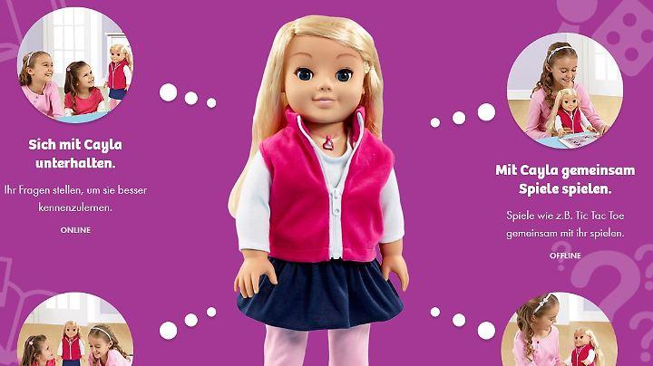 """Die Puppe """"Cayla"""" kann laut Hersteller """"jede Menge Fragen beantworten"""". Womöglich auch über die Gewohnheiten der Kinder, die mit ihr Spielen."""