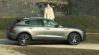 Zwei Autos in einem: Maserati Levante hat es drauf