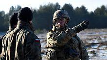 Litauen hofft auf Luftabwehr: USA verlegen Soldaten nach Polen