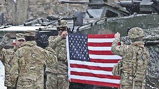 Verschnupfte Reaktion Russlands: USA entsenden 1000 Soldaten zur Abschreckung nach Polen