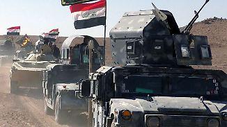 """""""Werden Krieg jetzt beenden"""": Irakische Armee startet Offensive auf IS-Hochburg Mossul"""