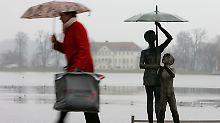 Stürmische Aussichten: Petrus lässt Deutschland im Regen stehen
