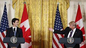 Der kanadische Premier Trudeau betonte in der Vergangenheit oft, dass Flüchtlinge in Kanada willkommen sind.