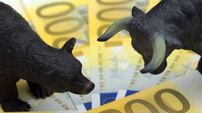Hedgefonds wetten auf kurzfristige Marktentwicklungen.