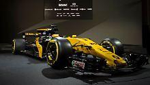 RS.17 - breit, stark, schwarz: Hülkenberg soll Renault titelreif machen
