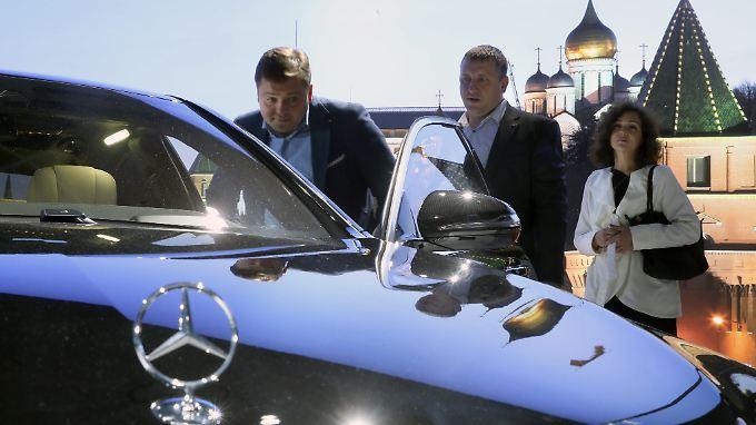 Daimler hat in Russland einen guten Stand.