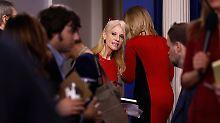 Kein Auftritt seit einer Woche: CNN: Trump schickt Conway in Zwangspause
